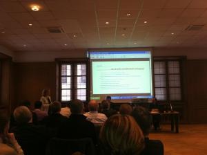 Présentation du KI à la CCI d'Alsace avec témoignage d'entreprises auditées